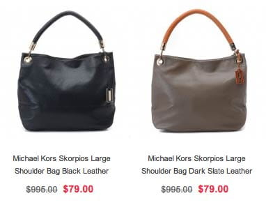 Fake Michael Kors Shoulder Bags