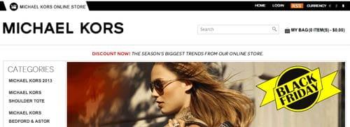 Fake Michael Kors Website