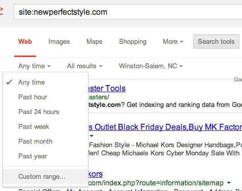 Spotting a Fake Website in the Google Search Results
