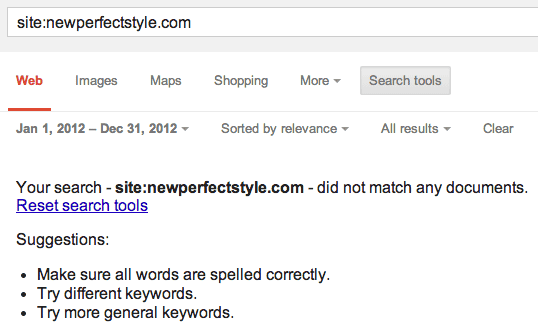 How to Spot a Fake Website by Going Back in Time in the Search Results