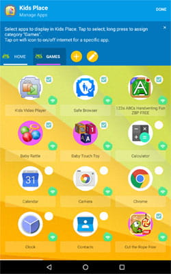 Kid's Place App