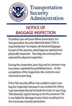 467c50db15e4 2019's Best TSA Approved Luggage Locks: What is a TSA Approved Lock?