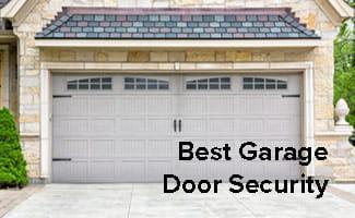 best garage door security
