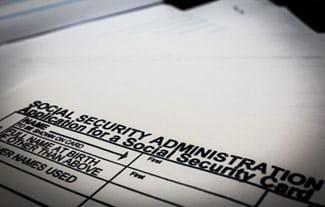 social security card form