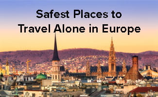 safest places to travel alone in europe