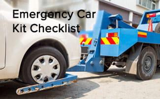 emergency car kit checklist