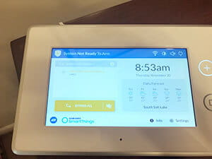 ADT Samsung SmartThings hub