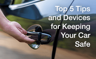 Keep Your Car from Being Stolen: Anti-Theft Devices and Tips