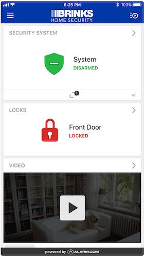 Brinks Home Security Cameras