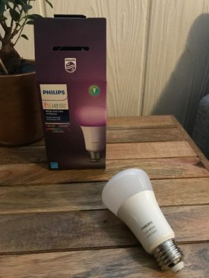 Philips Hue Smart Light Bulbs White and Color