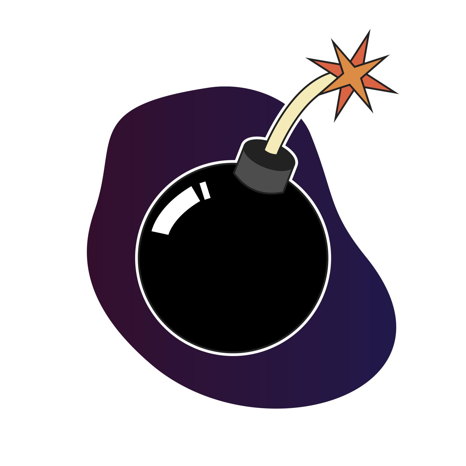 Bomb graphic