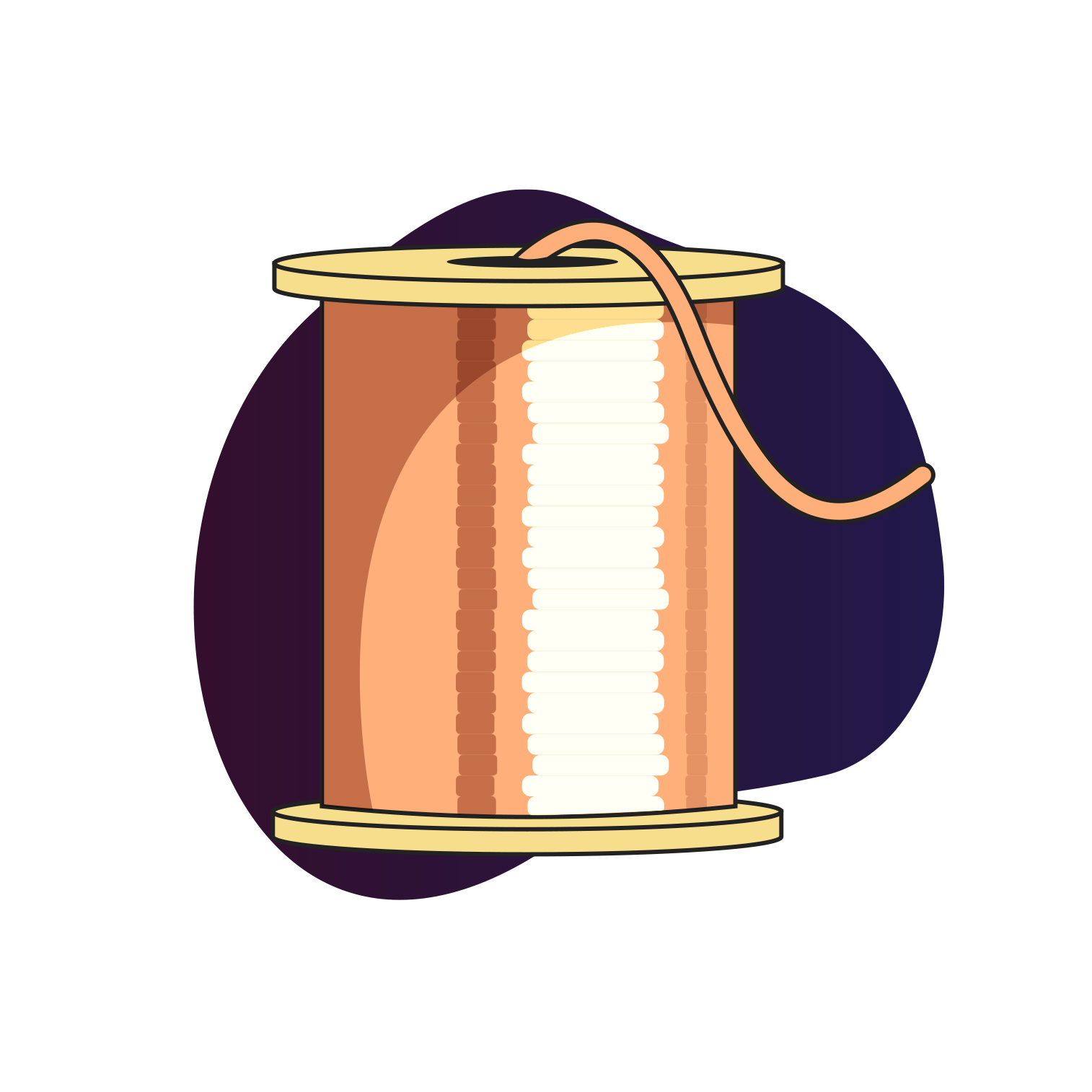 Copper graphic