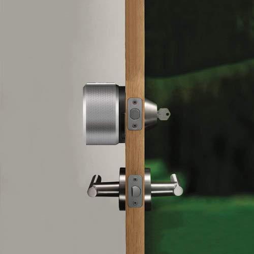 August Door Lock Installed