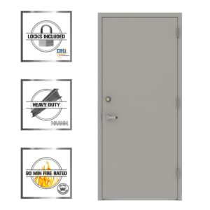 LIF Industries Steel Door