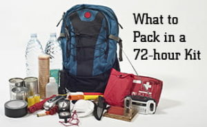 Survival: What to Pack in a 72-hour Kit