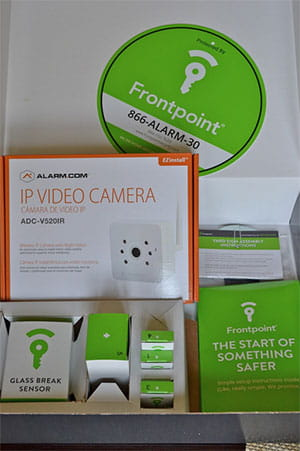 Frontpoint-Unboxing