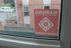 Protect America Sticker