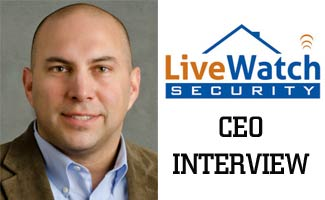 interviewee brad morehead ceo of livewatch security parent company of safemart