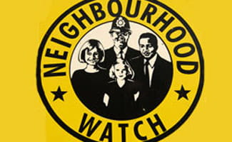 Neighbrohood watch sign