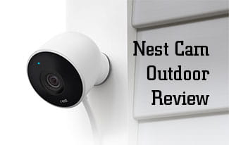 nest outdoor cam on wall