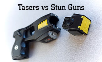 Tasers vs Stun Guns: What's the Difference?