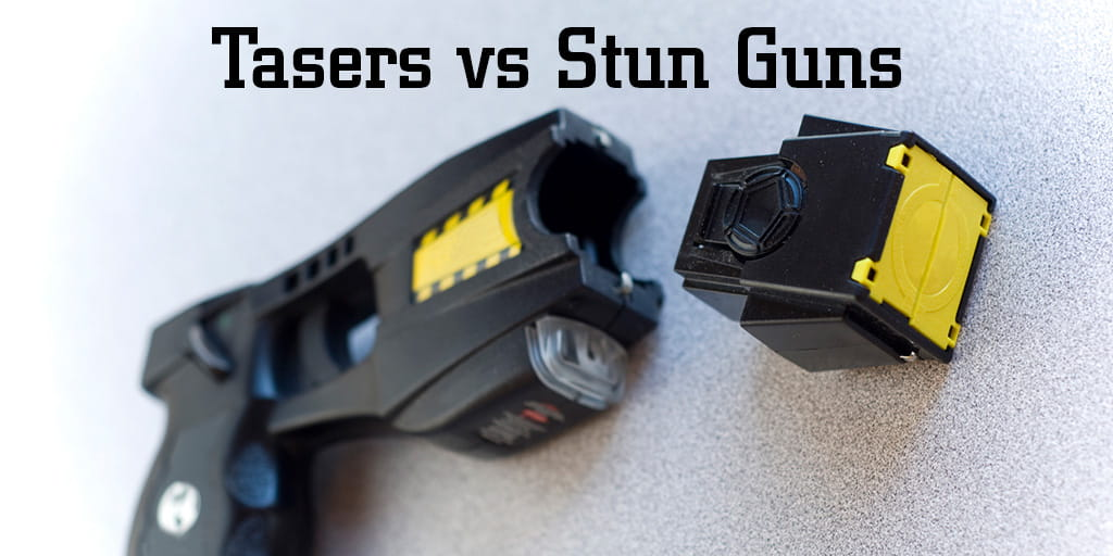 Tasers Vs Stun Guns What S The Difference