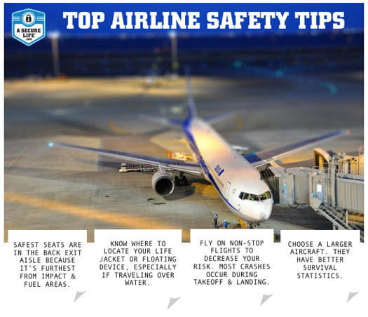Airline Safety Tips Infographic